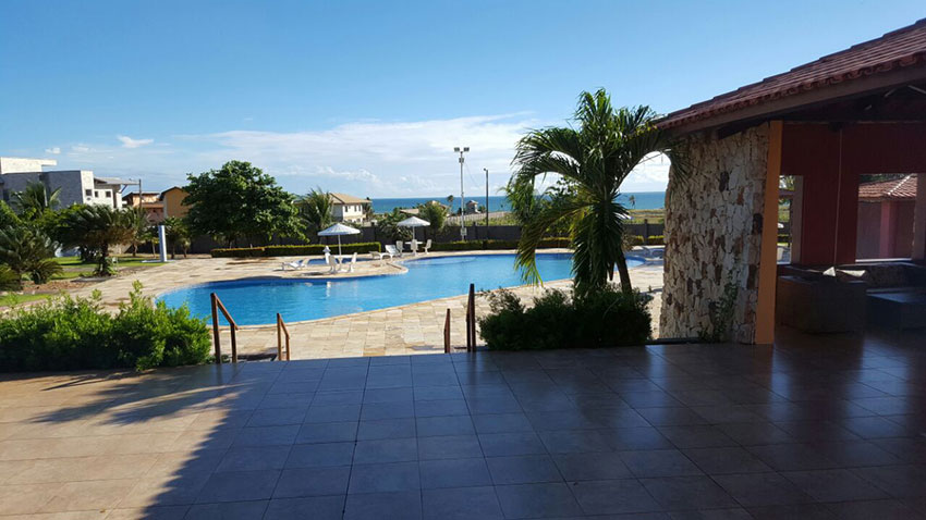 Casa de Praia Fortaleza Piscina